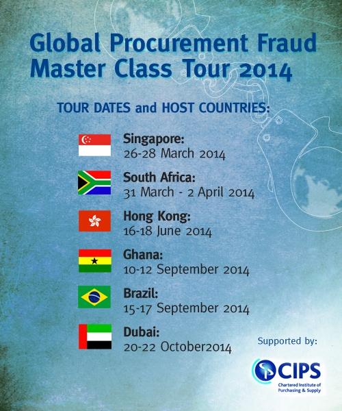 Global Procurement Fraud Tour 2014